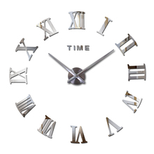 2016 hot fashion quartz watch home font b decor b font limited sale 3d big mirror
