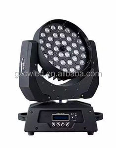 RGBW 4 in 1 moving head zoom /led small moving head light 6in1 led color wash zoom moving heads