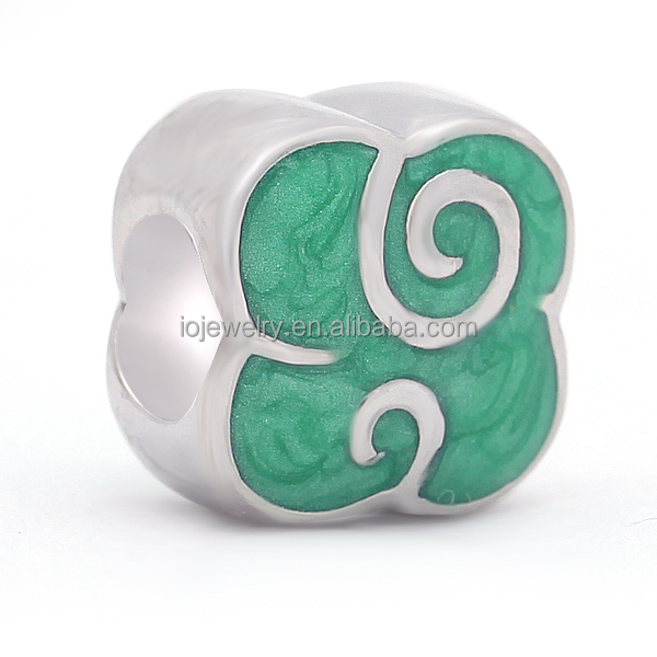 Beads Company Logo: Company Logo Engraving Beads Personalized