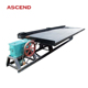 6-s and 6s mineral gold chrome ore gravity separating shaker table machine