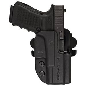 Comp-Tac International OWB Holster,CZ SP-01/P-01/75b/85b Slide,Black,Right Side Carry