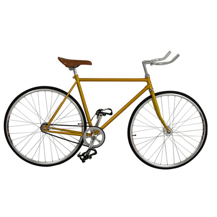 Weißen Rahmen Festrad Fahrrad Mit Schwarzer Reifen 700c Fixie Mit ...