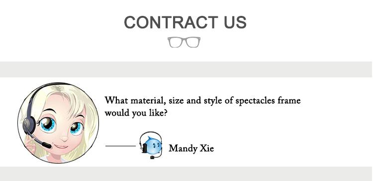 Monture en acétate fait à la main pour hommes, lunettes anti-lumière bleue à la mode