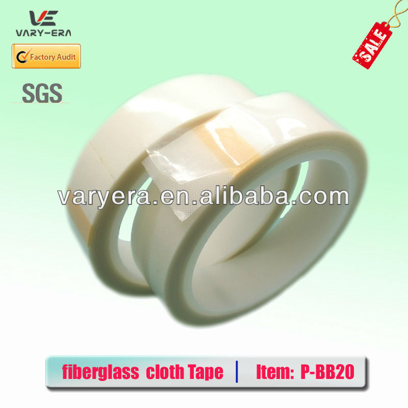 Double sided Fiberglass Weld Backing Tape 0.2mm*25mm*20m