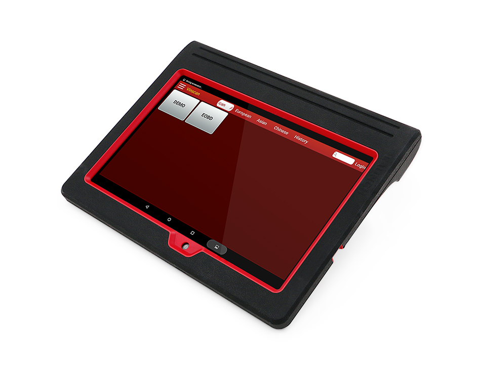 Auto classic red Launch diagnostic machine from China