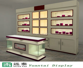 Elegant Display Cabinet And Showcase For Retail Store Cosmetic ...