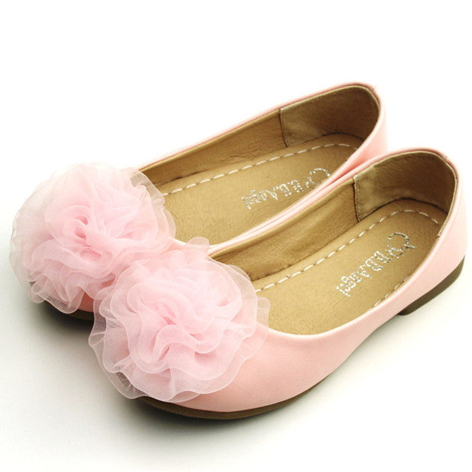 2015 New Children Shoes Leather Girl's Shoes Princess Party Shoes Teenager Girls Shoes Size 26-36