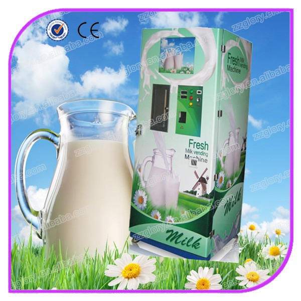 hot sale stainless steel automatic fresh milk vending machine