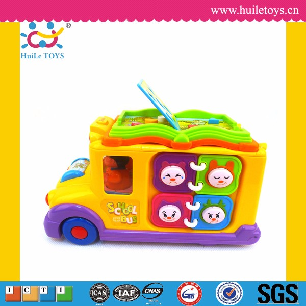 Electric musical baby toy happy small world game toy