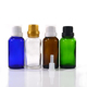 High Quality blue clear green amber 10ml 30ml glass essential oil bottle with tamper proof cap