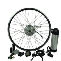 Easy Assemble Rear/Front Bicycle 36V 350W Electric Bike Conversion Kit China