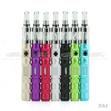 China wholesale vaporizer pen 510 thread e-cig kamry x8j ecigarette kit with 1500mah battey dual coil atomizer