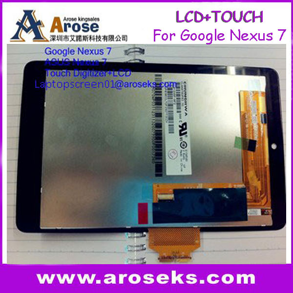 Asus Google Nexus 7 Spare parts LCD Display+ Touch Screen Replacement HV070WX2-1E0