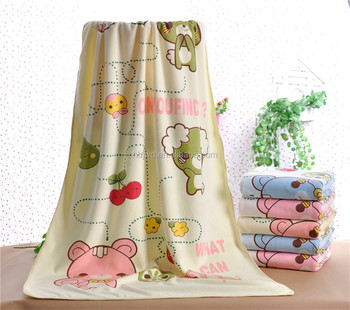 Softtextile Microfiber Baby Child Kids Dri Soft Bath Towels Brushed