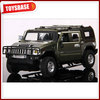 1:24 scale hummer H2 antique metal car