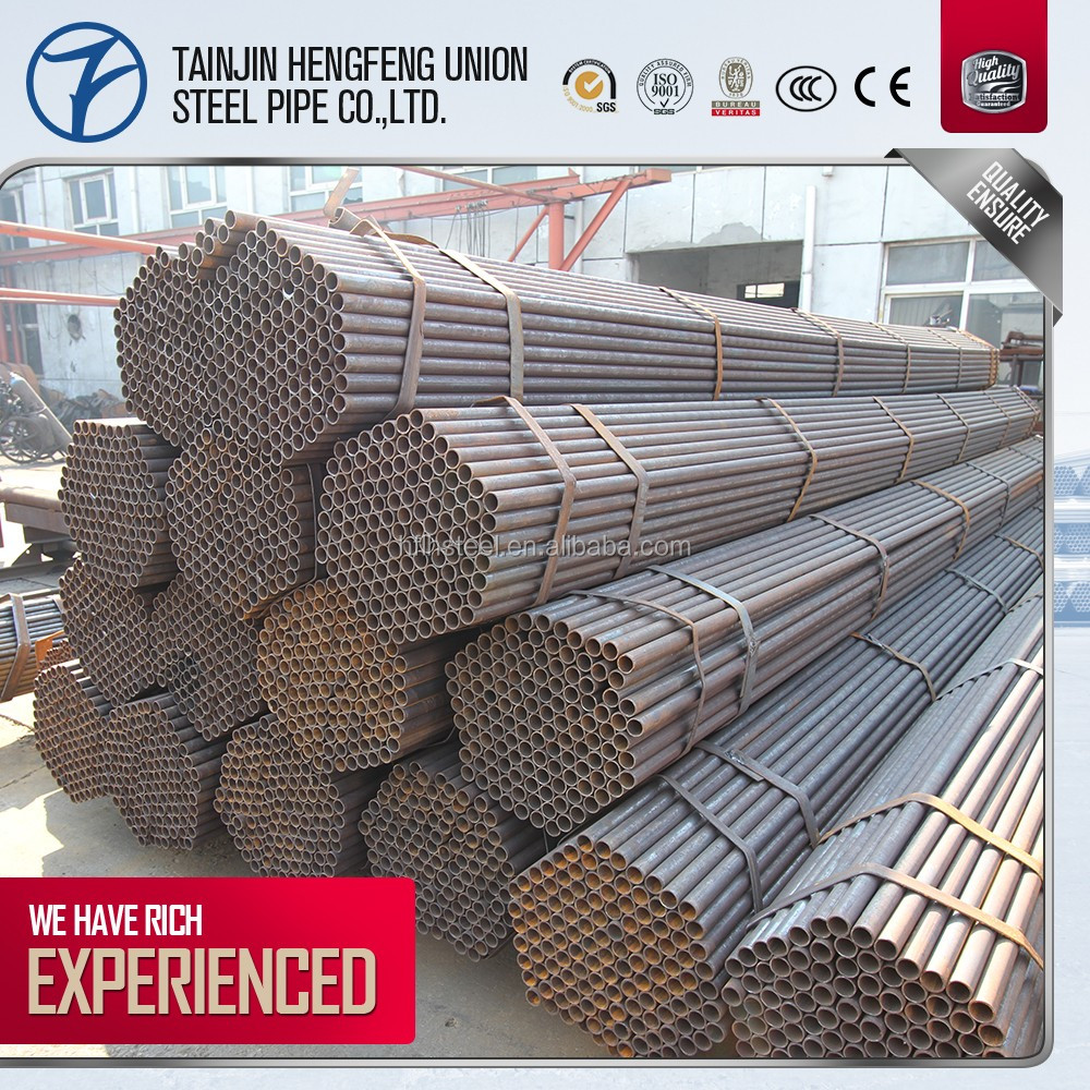 erw hollow structural steel pipe price, 110mm water supply pipe, 1 inch thin wall erw welded steel pipe