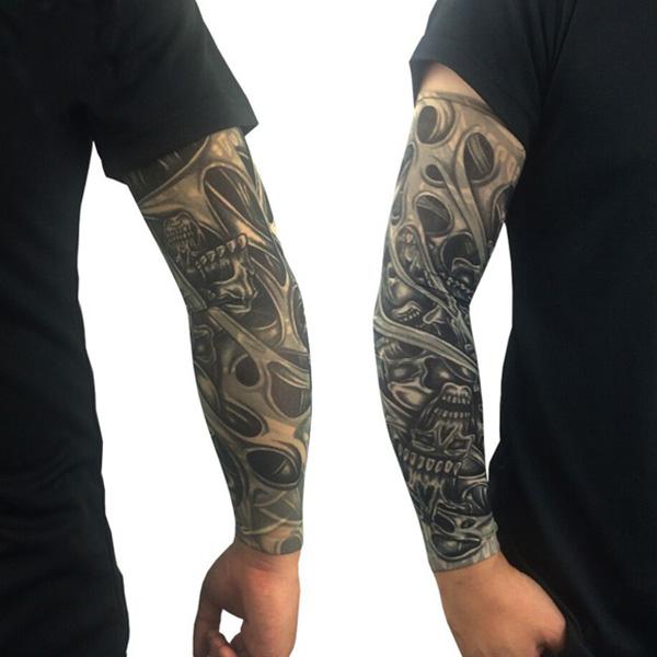 Nueva moda de las existencias de genial sol protecci n - Mangas de tattoo ...