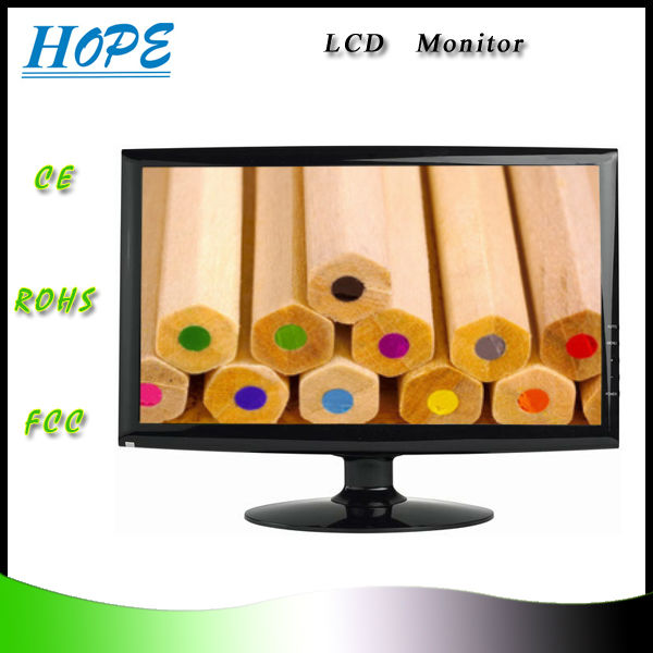 Brand New 19 inch intex lcd monitor price list with TV/HDMI/AV functions to choose