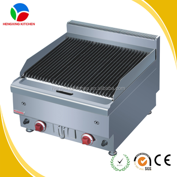 Professional Lava Rock Gas Barbeque Grill/Indoor Gas BBQ Grill/Industrial  Grill
