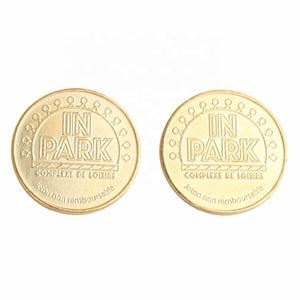 Custom Made Game Replica Gold Token Coins