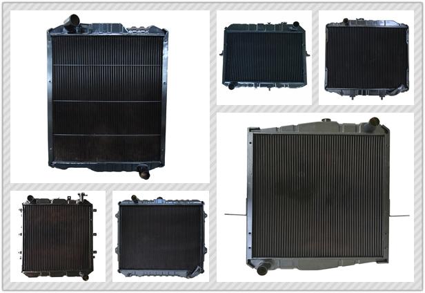 Fabrik outlet kupfer kühlsystem GAZ 330242-1301010 lkw teile kühler für Gaz motor