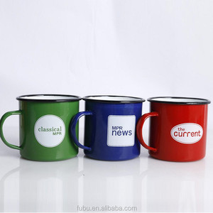 Outdoor sports player like best camp enamel mug 2017 popular