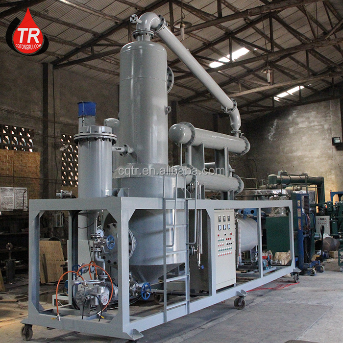 Tongrui high performance waste lubricating oil refinement device