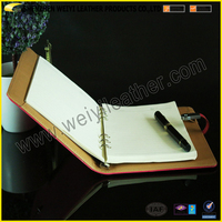 2016 New Design USB Driver Notebook With PU Cover