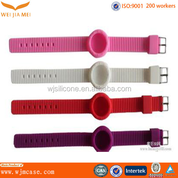 Lovely Wholesale Good Use Soft Touch Rubber Band Watch Strap Manufacturer