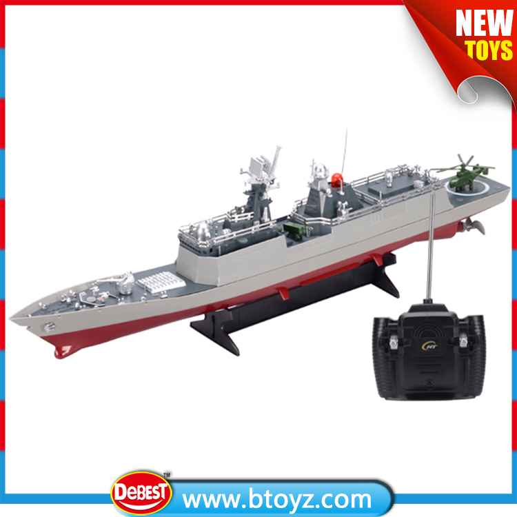 1:275 remote control fishing bait boat with light