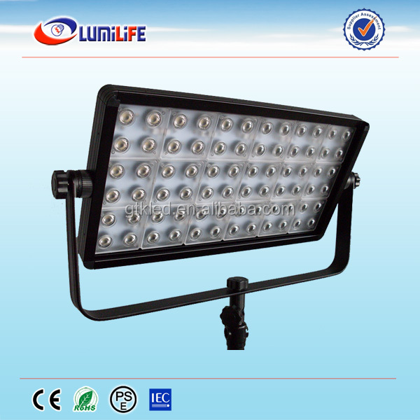 High Cri 95 No Flicker Led Panel Light Studio Light With Dmx ...
