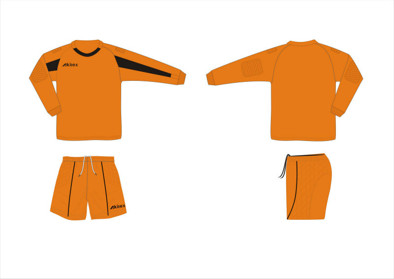 wholesale high quality custom soccer goalkeeper jersey