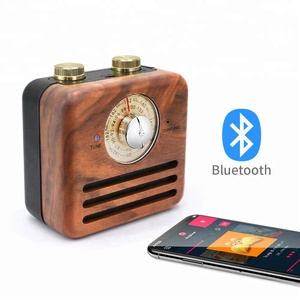 Top Seller 2018 Classic Wooden Radio USB Charging Bluetooth Dab Radio