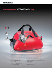 Fashionable light weight waterproof duffle bags for travelling