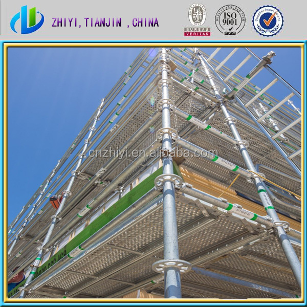 Hot saled galvanized scaffolds for construction /scaffolding equipment