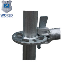 World Manufacturing Factory Price Ringlock Scaffolding System components triangle brackets, rosette, standard