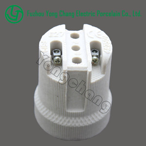 E27 base holder supplier lamp socket holder with wire