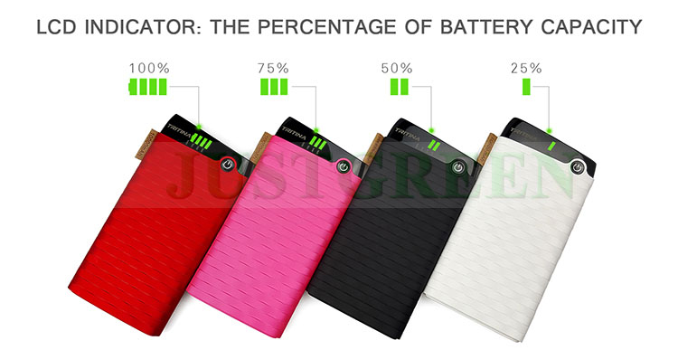 Tritina GYM TR40 Original cute power bank 10000mah accept paypal
