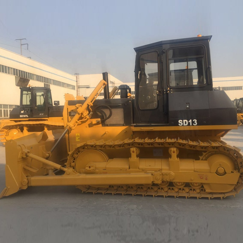Hot sale SD13 130HP Pequeno Bulldozer com ripper para Shantui bulldozer