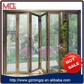 price of aluminium frame folding door aluminium glass door