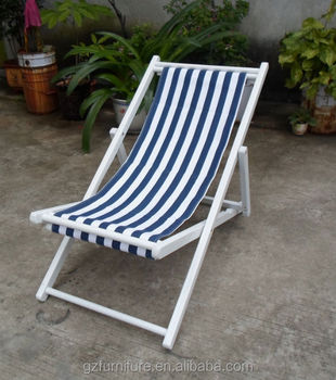 outdoor deck chairs wooden folding deck garden chair with fabric