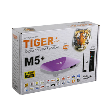 Tiger Star M5+ free download china sex video free to air set top DVB S2 Receiver