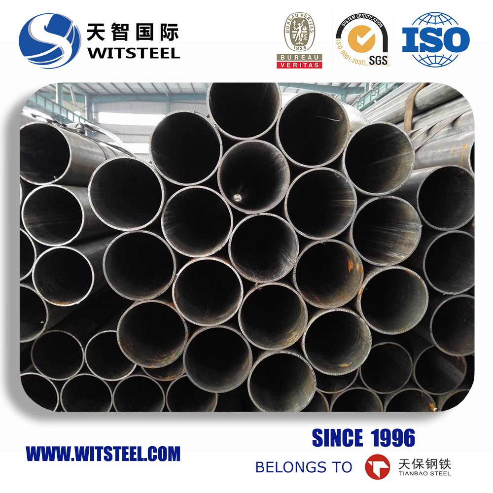 Black iron din2448 st37 seamless steel pipe astm a106 made in China