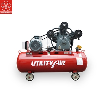 250L belt drive portable piston air compressor