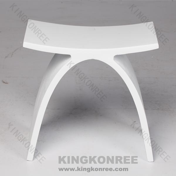 Duschhocker modern  acryl feste oberfläche kleine quadratische form 3 beinen hocker ...