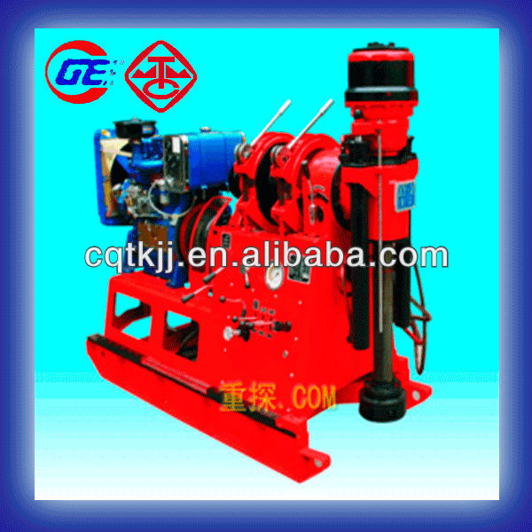 XY-2 New Condition and diesel/electric engine Power Type cheap engineering geological water well drill rig