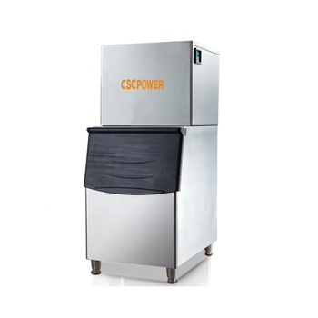 Popular cube ice machine/cube ice maker 160kg Production 24 Hours