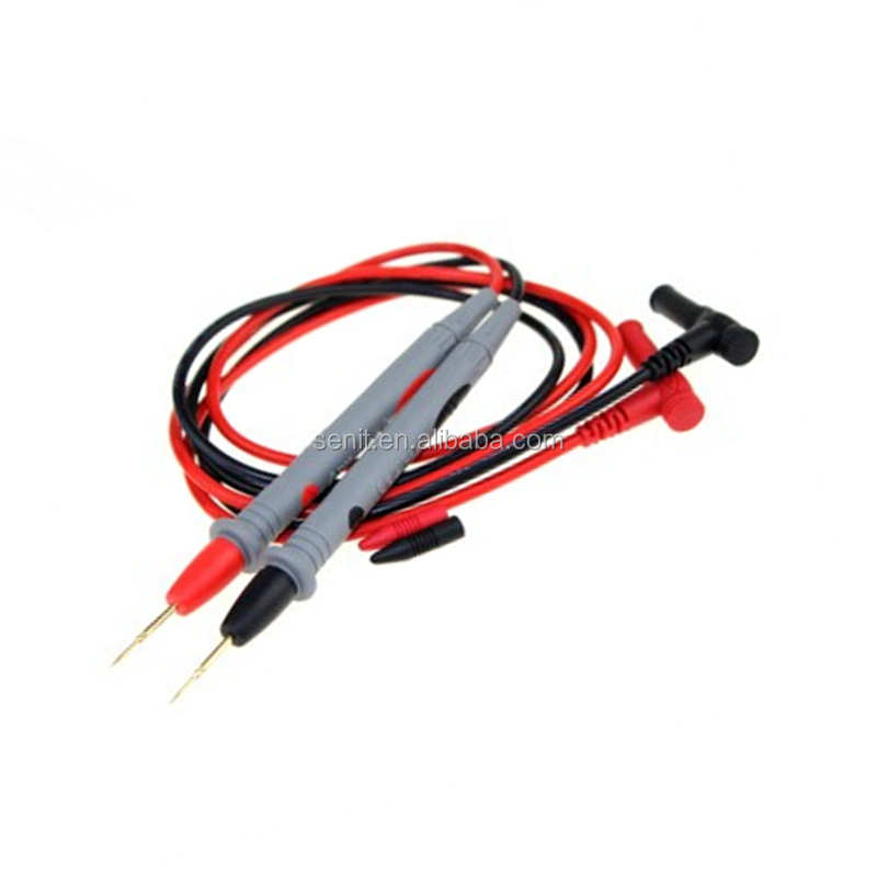 High Quality Test Leads Probe For Digital Multimeter 1000v Multimeter Wire  Gold Probe - Buy Test Leads Probe For Digital Multimeter Product on