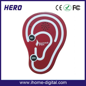 Environmental plastic voice recordings Customized OEM/ODM Product