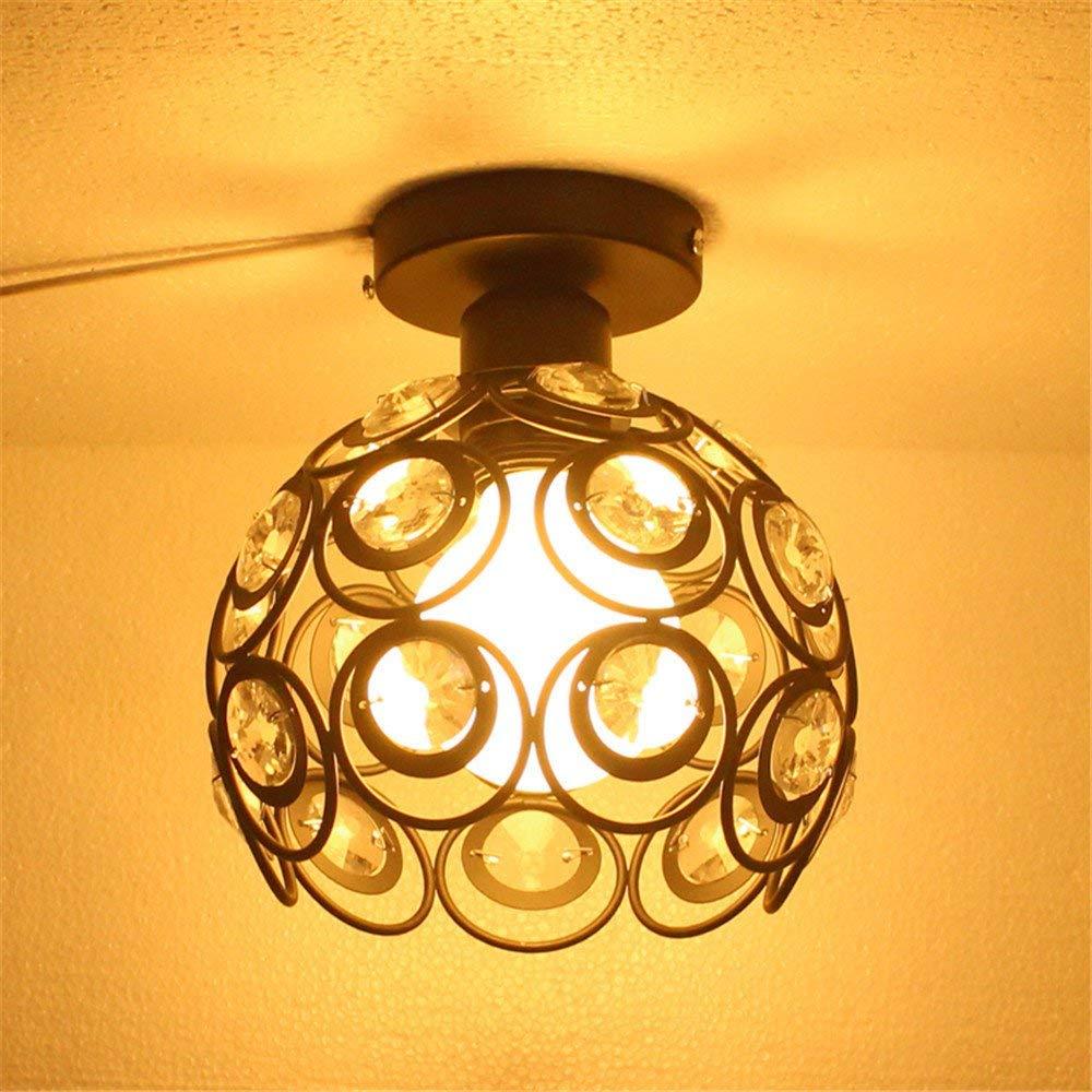 Lights & Lighting Ceiling Lights & Fans Simple Cloakroom Round Led Milk White Glass Ceiling Light Corridor Balcony Porch Ceiling Lamp